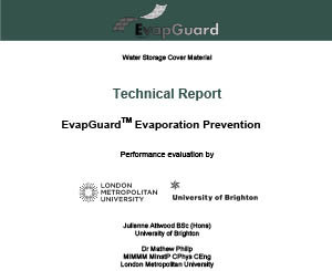 Evaporation Report